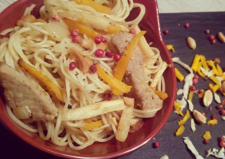 Les 7 Meilleures Recettes de Wok de veau, potimarron et céleri