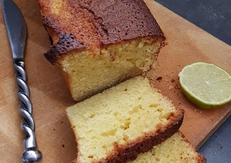 Cake au citron vert (au thermomix)