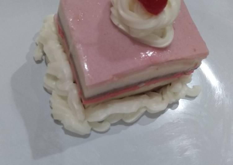Pudding pelangi ultra 🌈