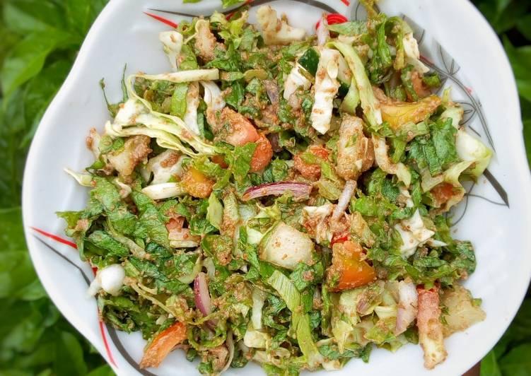 Recipe of Perfect Local lettuce salad🥗