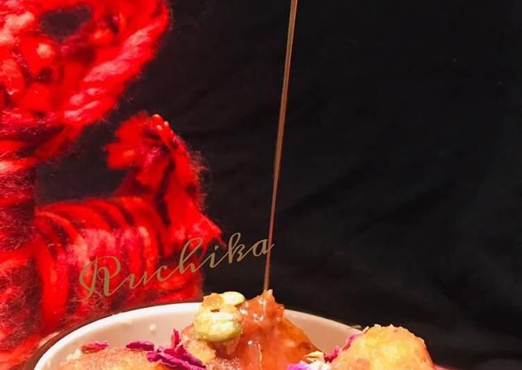 Sweet potatoes Gulab Jamun