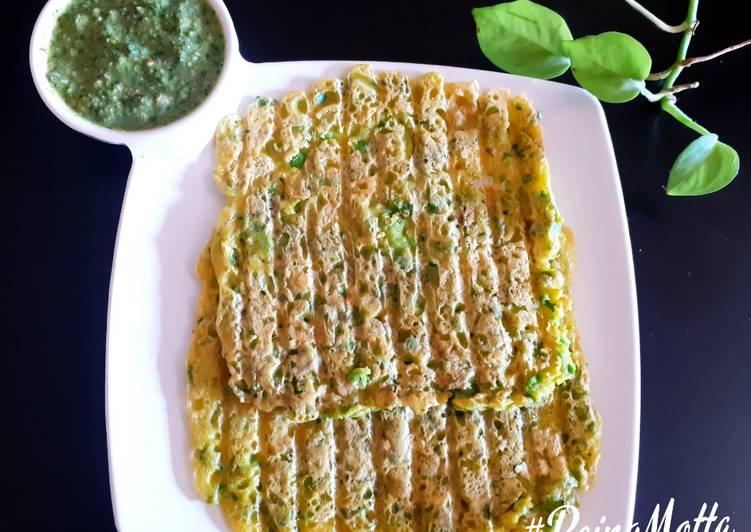 Green Peas Chilla