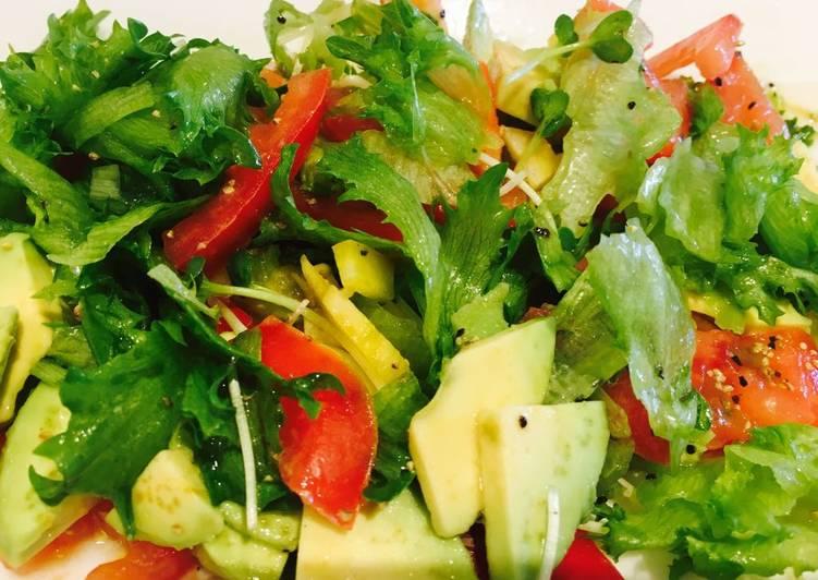 Steps to Prepare Award-winning Go too Salad