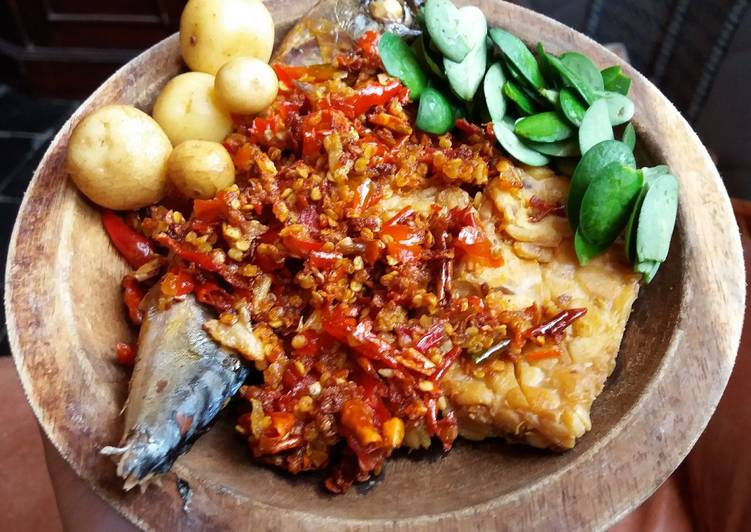 Resep Tempe penyet sambel goang (khas majalengka), Sempurna