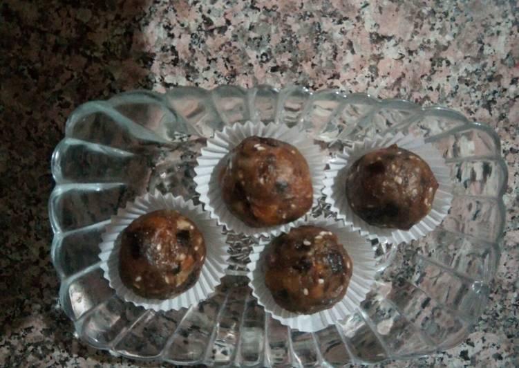 Comment Préparer Les Boulettes aux fruits secs