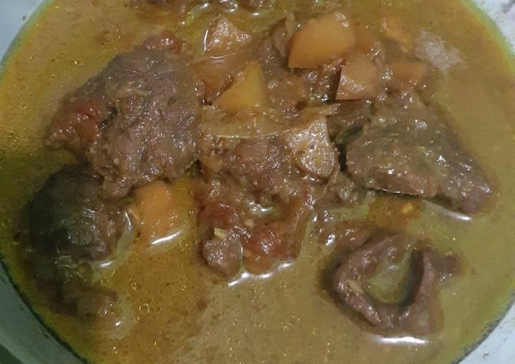 Semur Daging Sapi (simple)