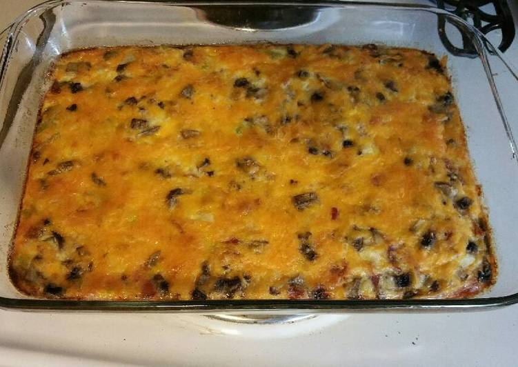 Step-by-Step Guide to Make Quick Breakfast Egg Casserole