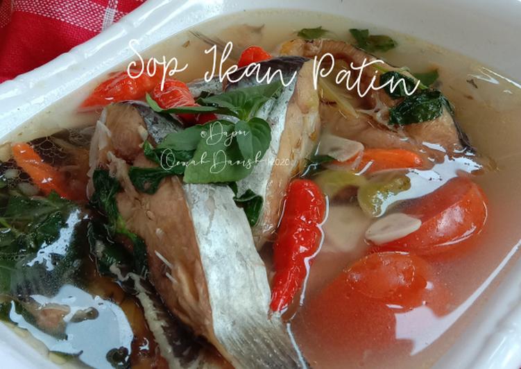 Cara Mudah Memasak Sop ikan patin kuah bening Spesial