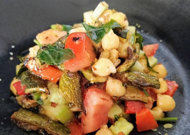 La Délicieuse Recette du Salade de pois chiches