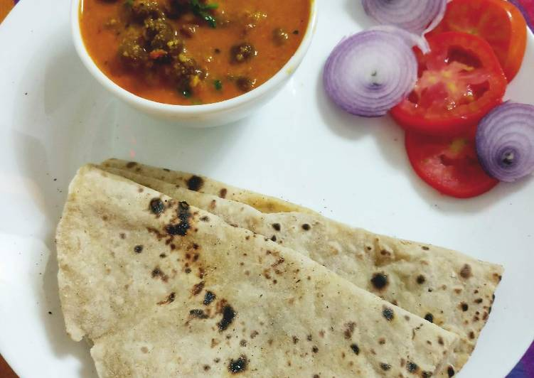 Chana masala with Roti