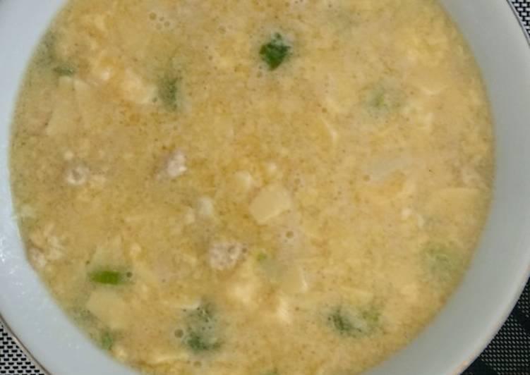 Sup telur tahu jepang (cocok banget kl lg buru2)