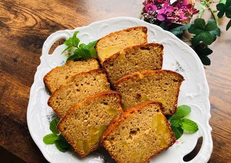 Recipe of Perfect Maple Chestnut cake
