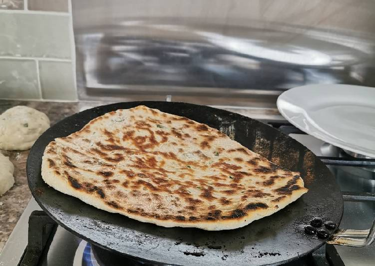 Easy home made Naan bread