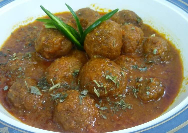 Kofta Curry Choosing Fast Food That's Good For You