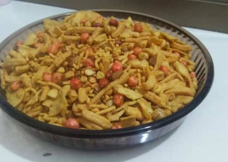 30 Minute Recipe of Fall Nimko (fry crunchy snack's)