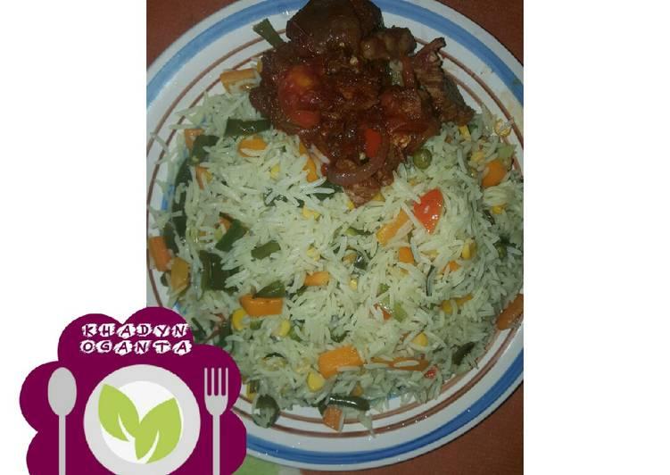 Recipe of Any-night-of-the-week Basmati fried rice