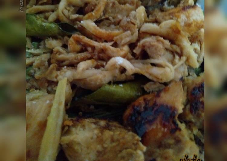 Ayam_Jamur Bumbu Sate