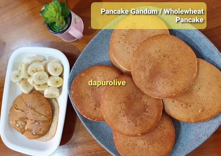 Resep Pancake Gandum Sehat Paling dicari
