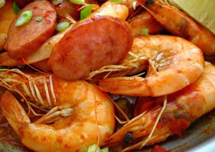 How to Make Favorite Cajun-Inspired Shrimp & Sausage