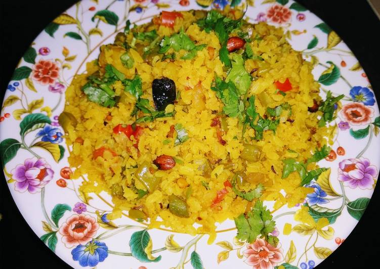 30 Minute Recipe of Award Winning Masala Poha