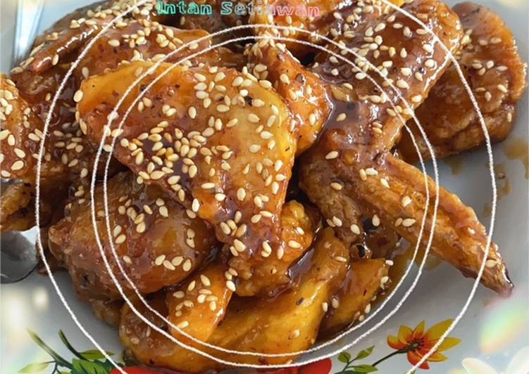 Resep Ayam spicy saus madu Yang Populer Endes