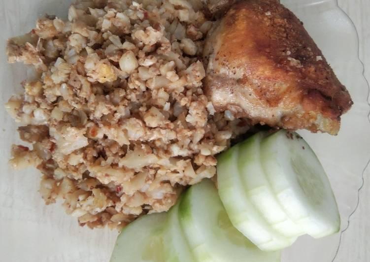 Cara membuat Nasi goreng KW DEBM