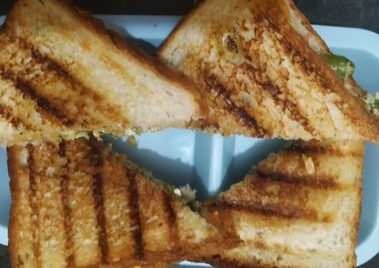 Recipe: Delicious Carrot sandwich