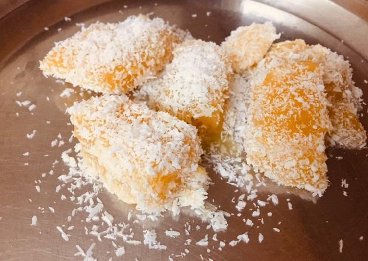Easiest Way to Make Super Quick Homemade Orange jelly dessert