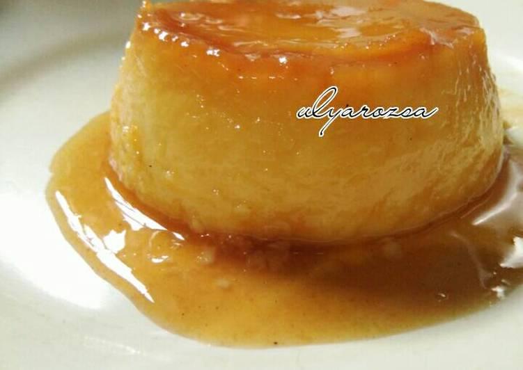 Puding Caramel Custard ЁЯНо