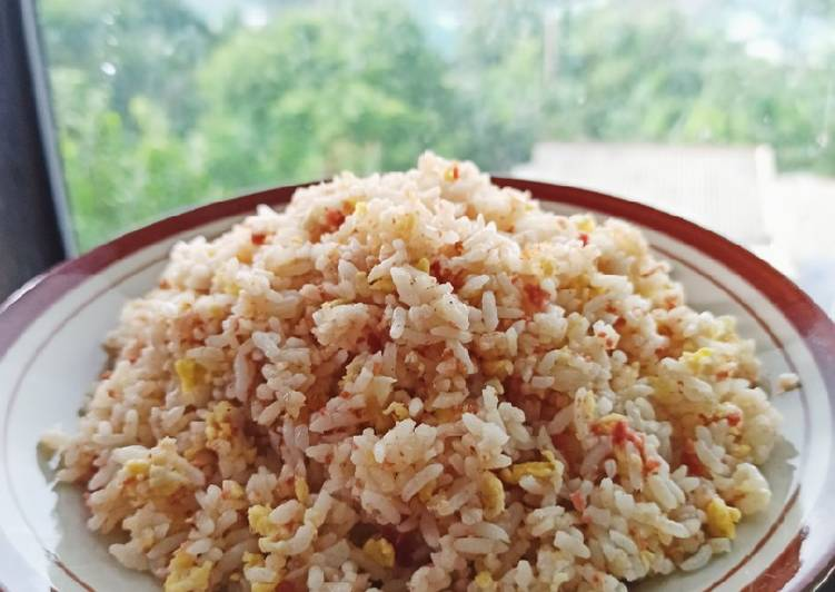 Resep Garlic Butter Fried Rice With Corned Beef Anti Gagal