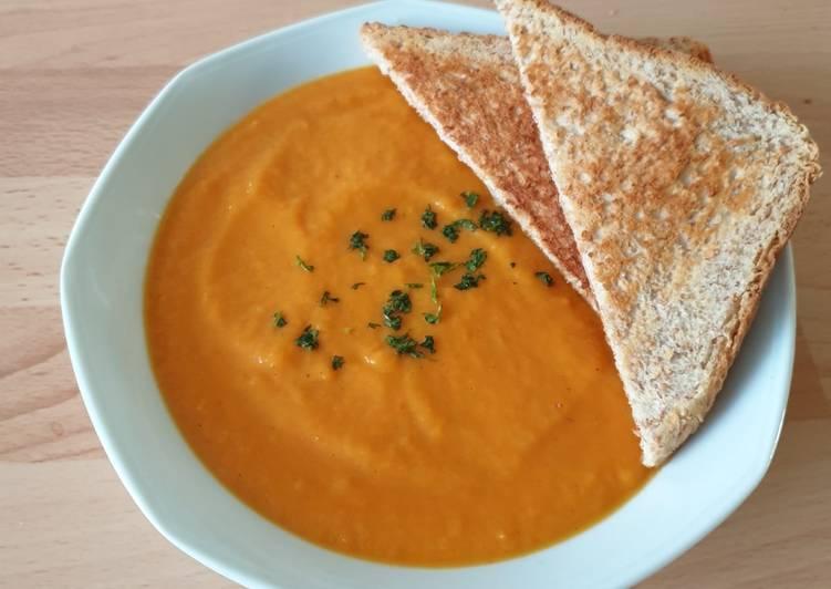Comment Faire Délicieux Velouté de carotte