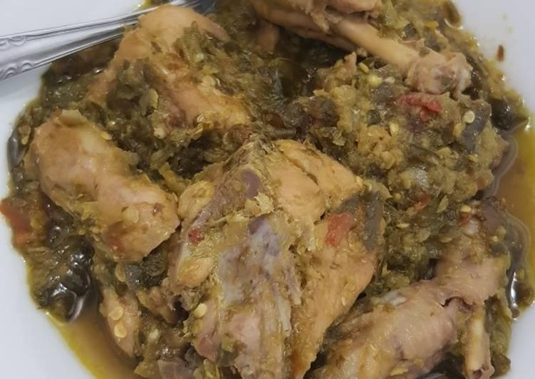 Ayam Cabai Hijau khas Minang