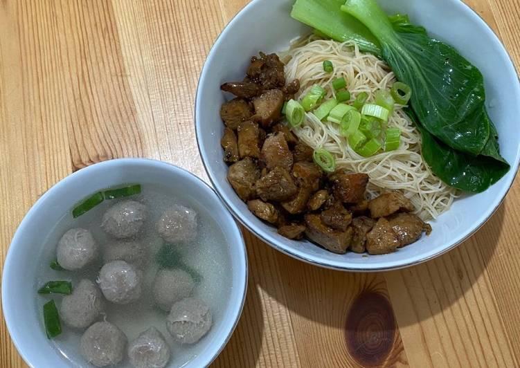 #26 Bihun Kuah Topping Ayam Teriyaki - super simple, pakai leftover ayam teriyaki