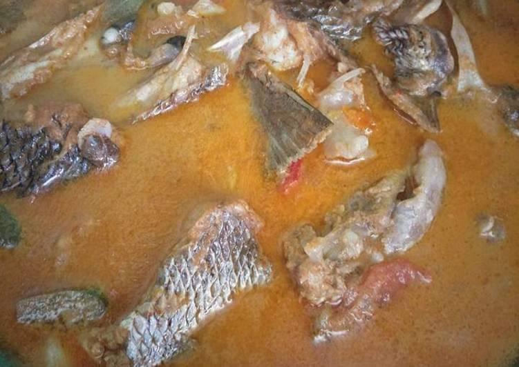 Gulai Ikan Marus Kaur