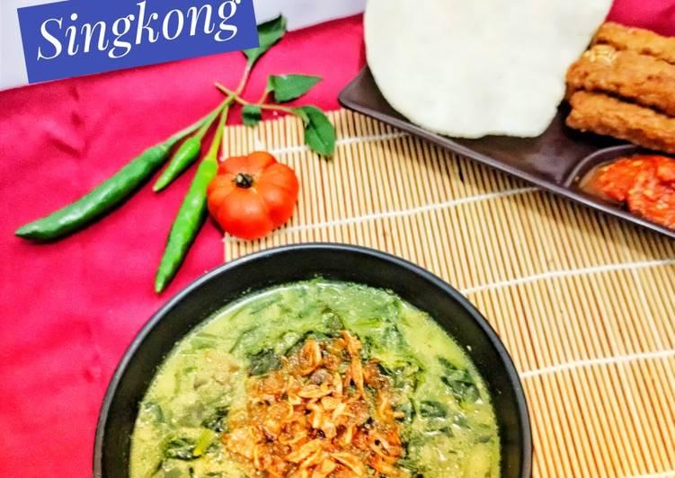 Gulai Daun Singkong