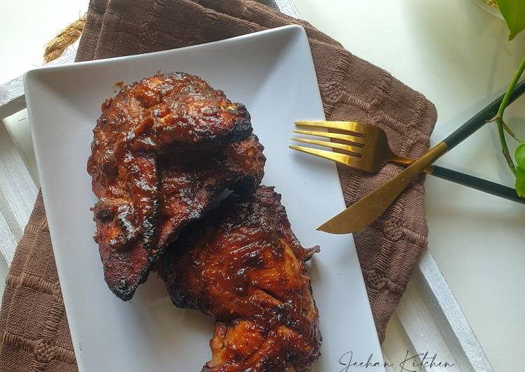 Ayam Bakar Madu Blackpepper Ala Tesco - velavinkabakery.com