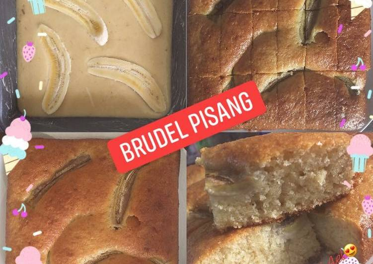 Brudel pisang made by mami Ael😍