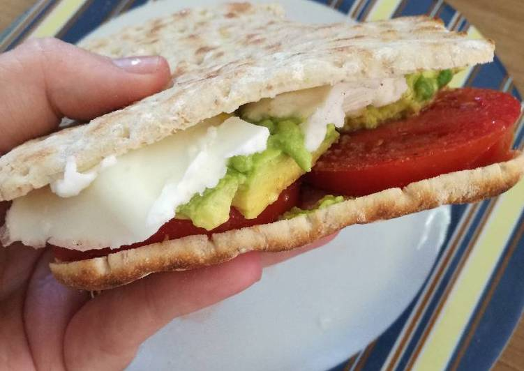 Vegan breakfast samie