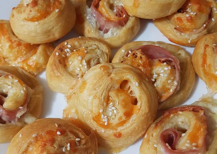Ham and Cheesy Pinwheels, Some Foods That Are Helpful To Your Heart