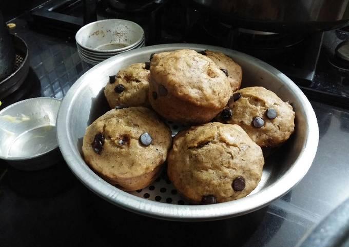 Muffin Pisang Coklat Chip