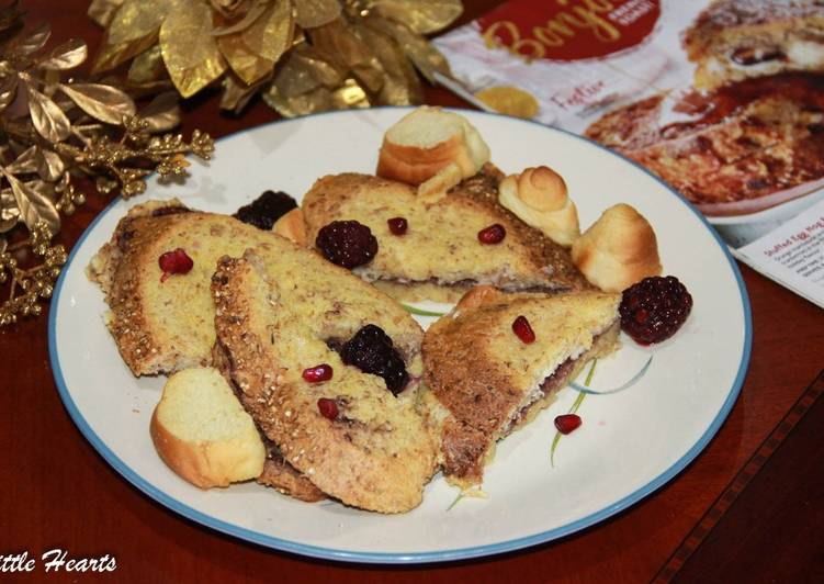 How to Make Any-night-of-the-week Stuffed Egg Nog French Toast