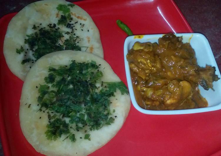 Top 10 Dinner Easy Ultimate Kulcha and bhuna chicken masala