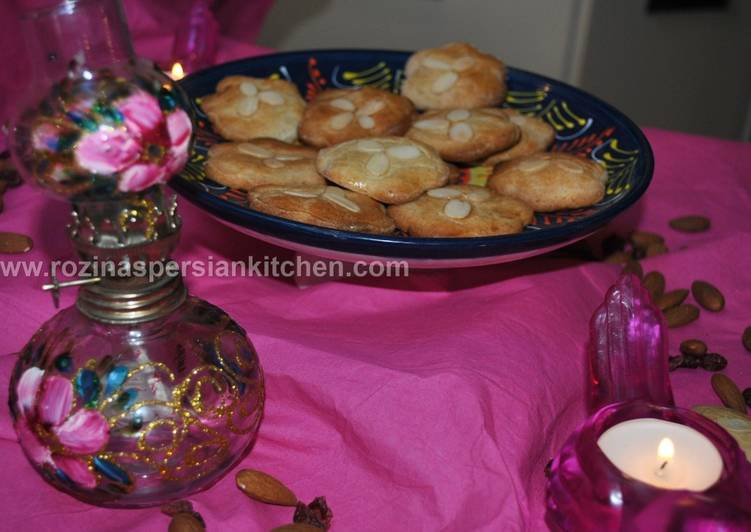 Simple Way to Prepare Super Quick Homemade Almond Biscuit بیسکویت بادامی