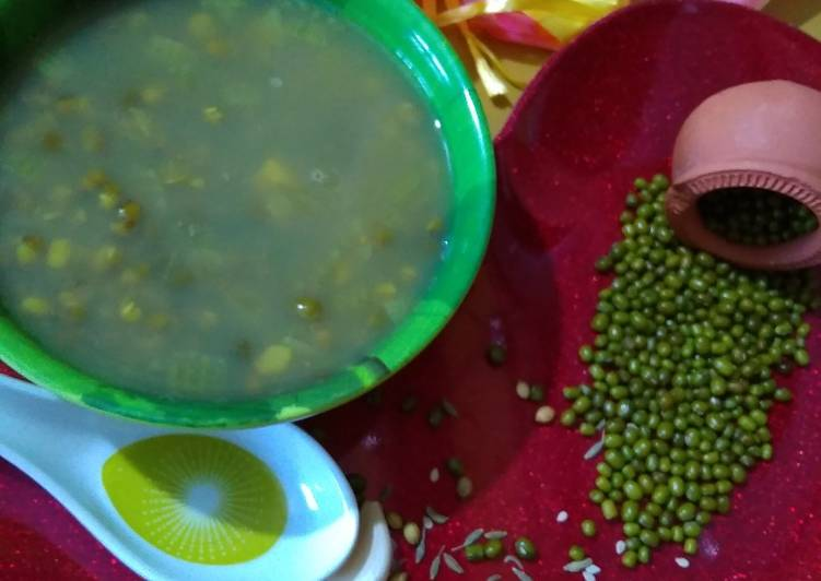 Moong beans detox Soup