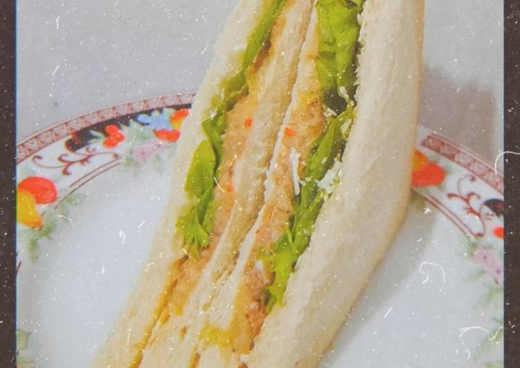 Sandwich Tuna Mayo Creamy Pedas🔥