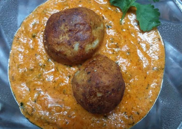 Cheese paneer kofta curry (Jain)