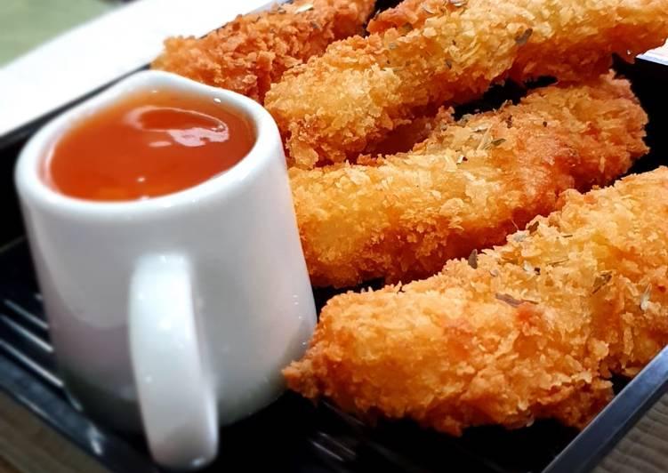 Resep Ikan Dori Goreng Tepung Saos Garlic Mayo Yang Lezat