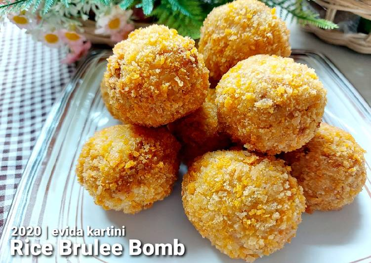 Rice Brulee Bomb