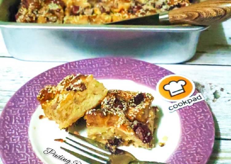 Puding Roti Bakar - velavinkabakery.com