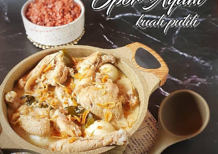 194. Opor Ayam Kuah Putih